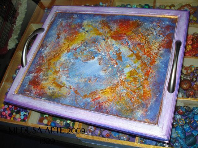 Carnet la m duse du fium 39 orbu - Peinture sur plateau en verre ...