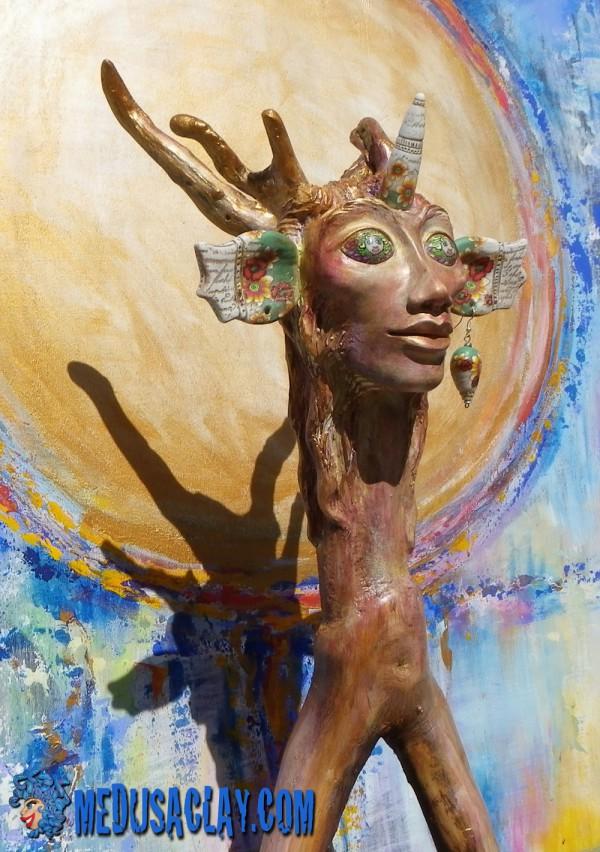 sculpture_fimo_bois_peinture